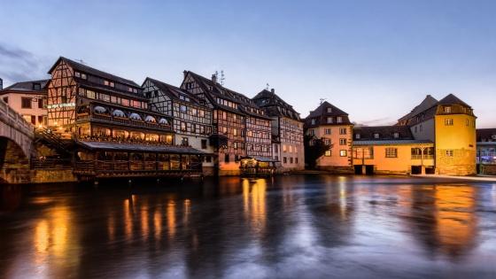 Strasbourg vin orange